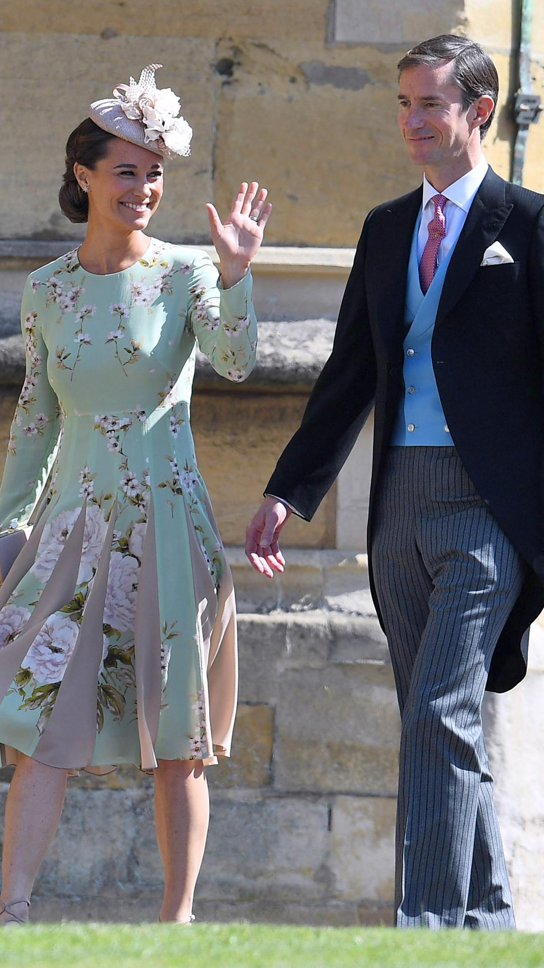 Pippa Middleton, James Matthews, Royal Wedding Arrivals