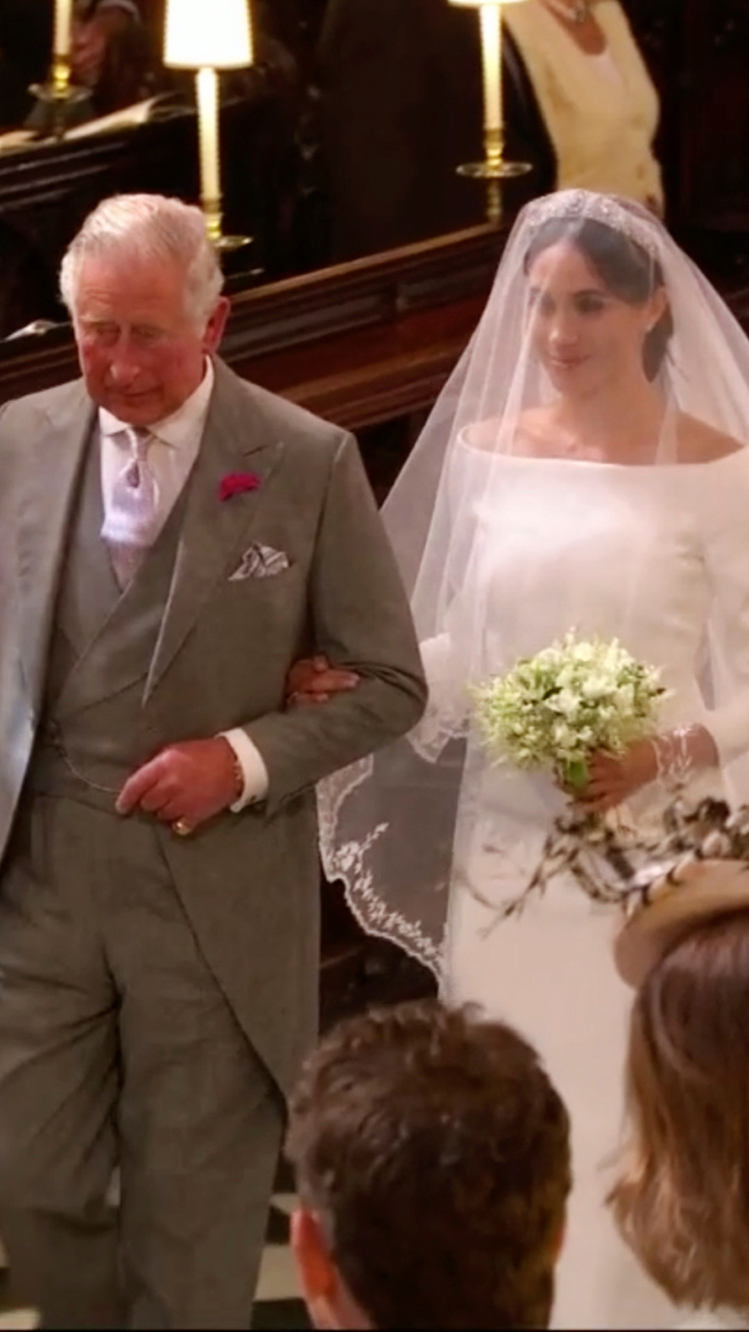 Meghan Markle, Prince Charles, Royal Wedding