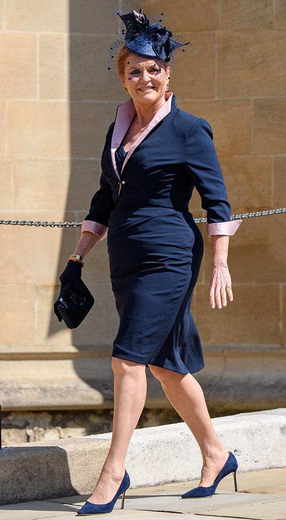 Sarah Ferguson, Sarah Duchess of York, Royal Wedding Arrivals