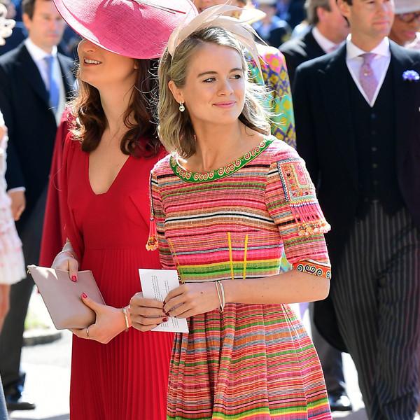 Cressida Bonas, Royal Wedding Arrivals