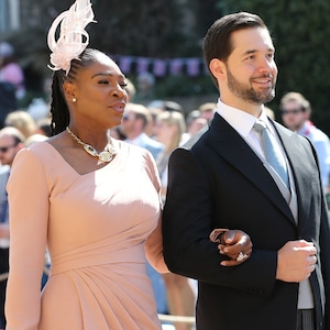 Serena Williams, Alexis Ohanian, Royal Wedding Arrivals