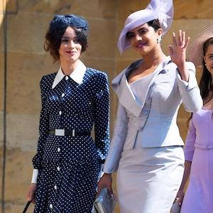 Priyanka Chopra, Royal Wedding Arrivals