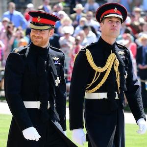 Prince Harry, Prince William, Royal Wedding