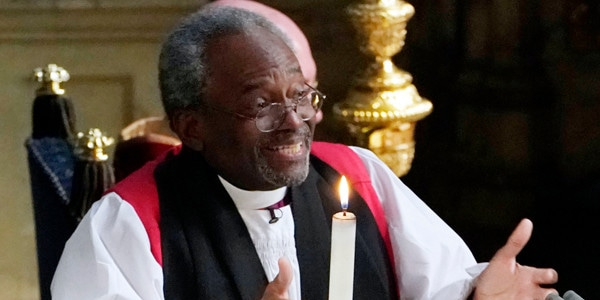 Royal Wedding Bishop Says He Only Deviated Slightly From