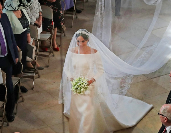 4 Classic Celeb Wedding Dresses Similar To Meghan Markle S