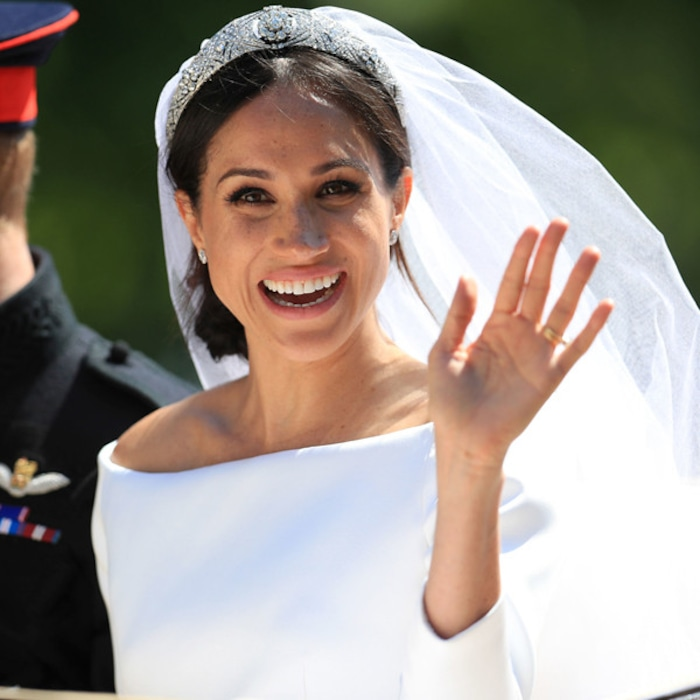 29bb732aad Designer Emilia Wickstead Extremely Saddened By Meghan Markle Wedding Dress  Commentary