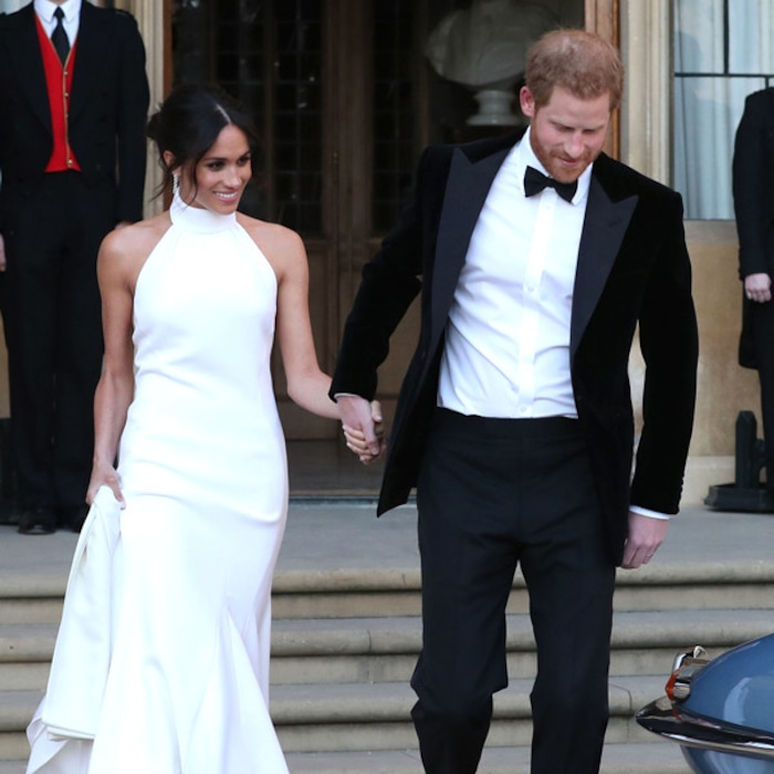 All The Details On Meghan Markle S Stella Mccartney Royal Wedding Reception Dress E News