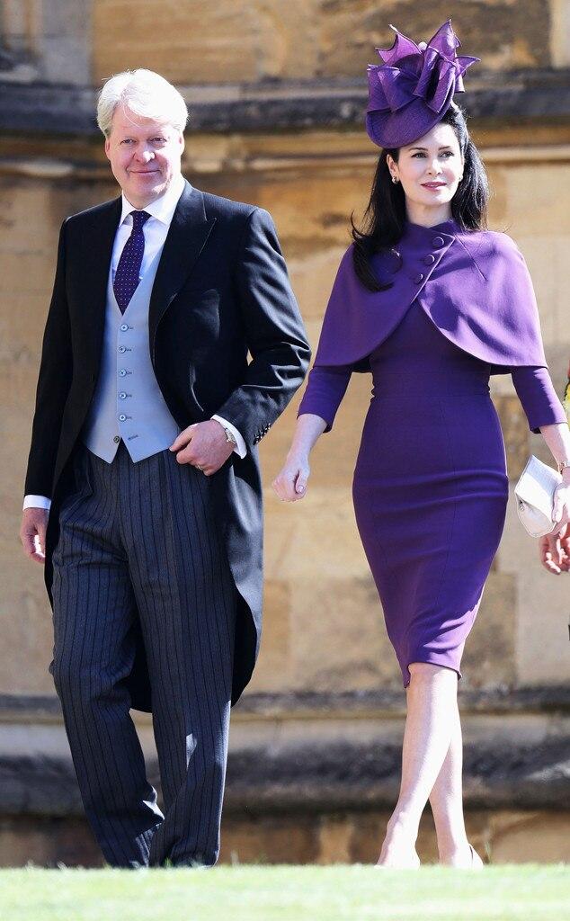 Charles Spencer, Karen Spencer, Royal Wedding Arrivals