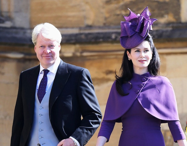 Earl Charles Spencer Countess Karen From Meghan Markle And Prince Harry S Royal Wedding Guests E News