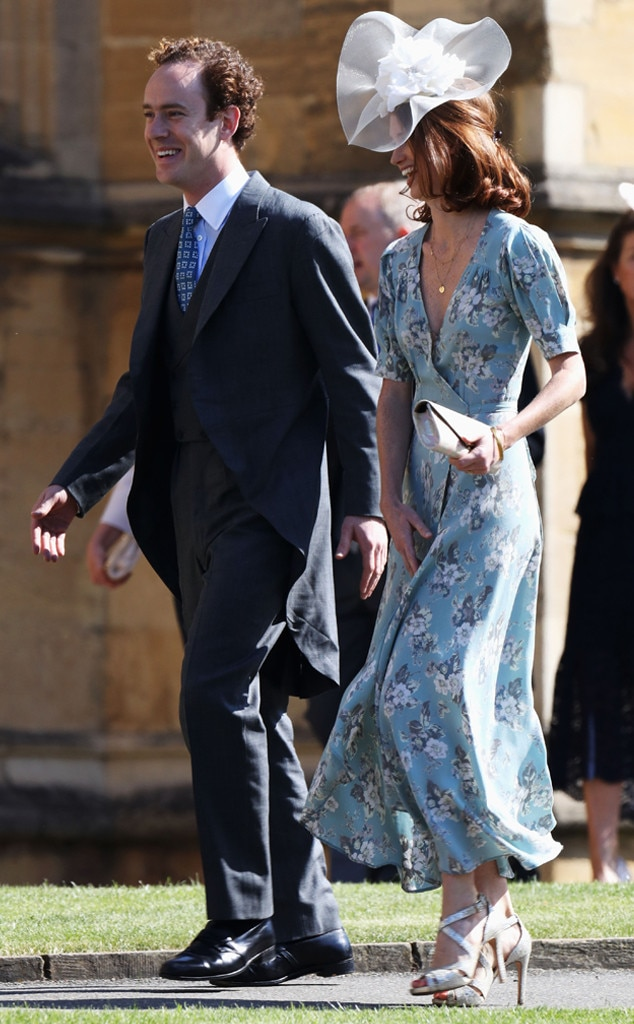 Tom Inskip, Lara Inskip, Royal Wedding Arrivals