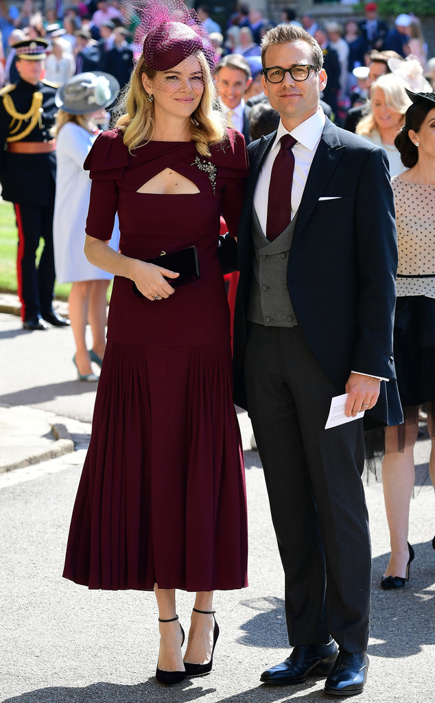 4b7dae3c534bb Meghan Markle s Suits Costars Make a Splash at the Royal Wedding