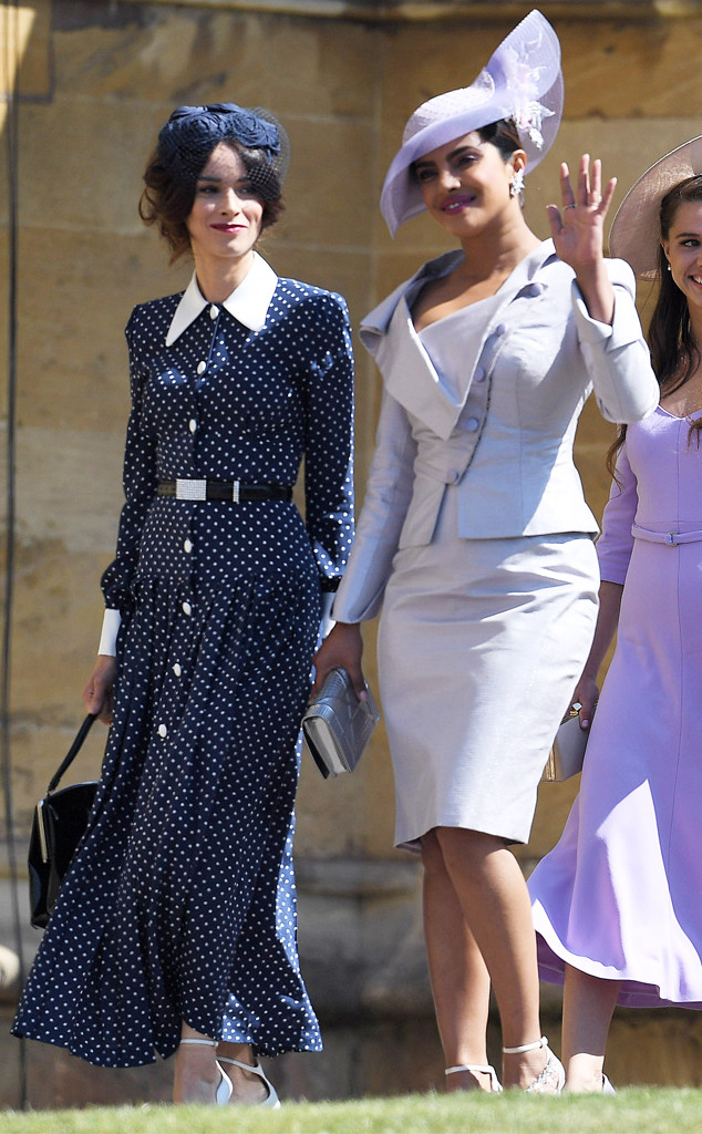 Priyanka Chopra Is The Epitome Of Chic In Dress Suit At Royal