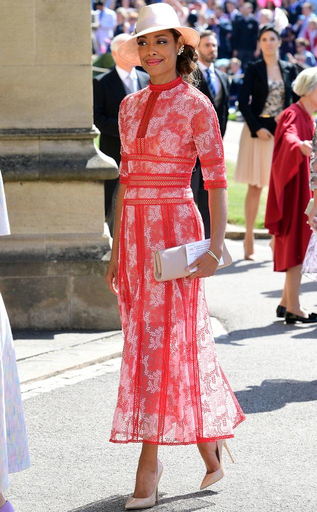 Gina Torres, Royal wedding Arrivals