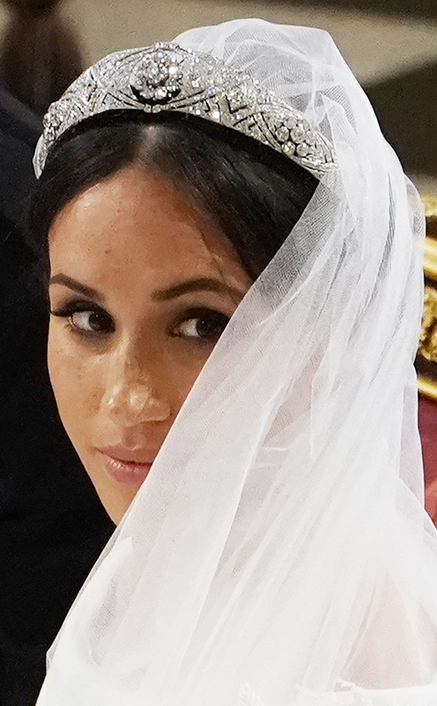Meghan Markle, Royal Wedding, Close-up