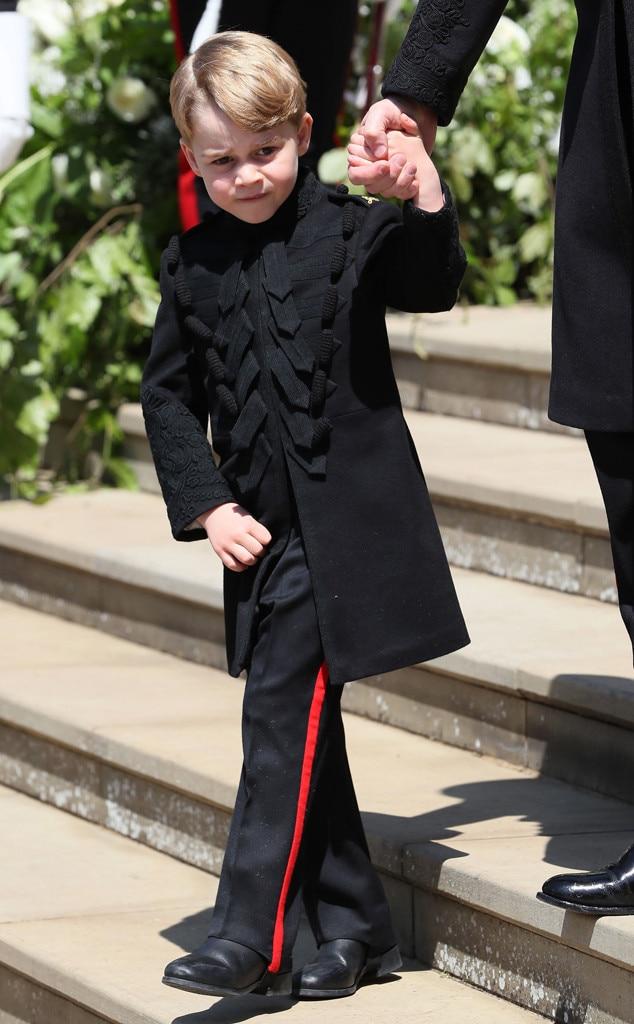 Prince George, Royal Wedding