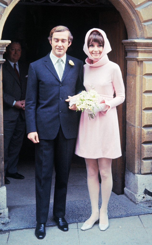 ESC: Audrey Hepburn, Givenchy Wedding