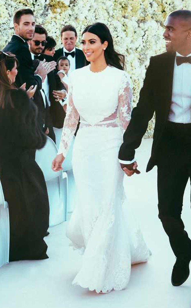 Esc Kim Kardashian Kanye West Wedding Kimye