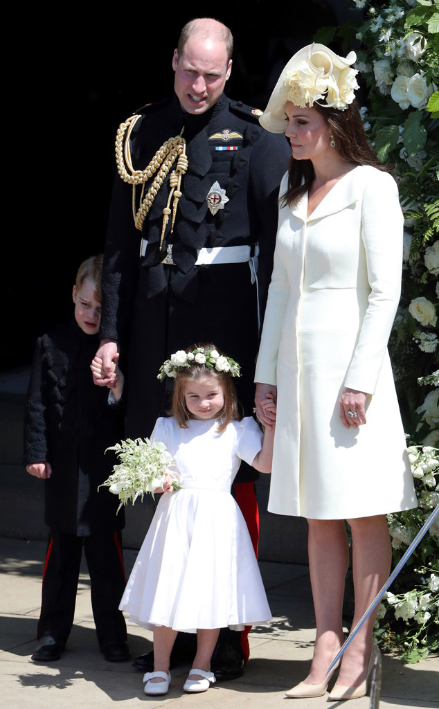 Prince William, Kate Middleton, Princess Charlotte, Prince George, Royal Wedding