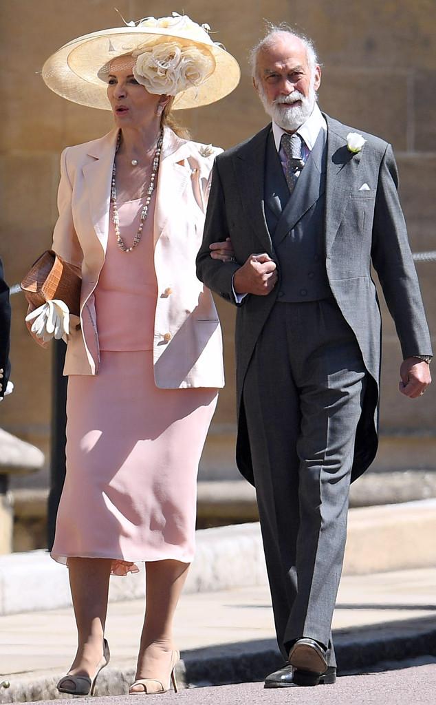 Prince Michael of Kent, Princess Michael of Kent, Royal Wedding Arrivals