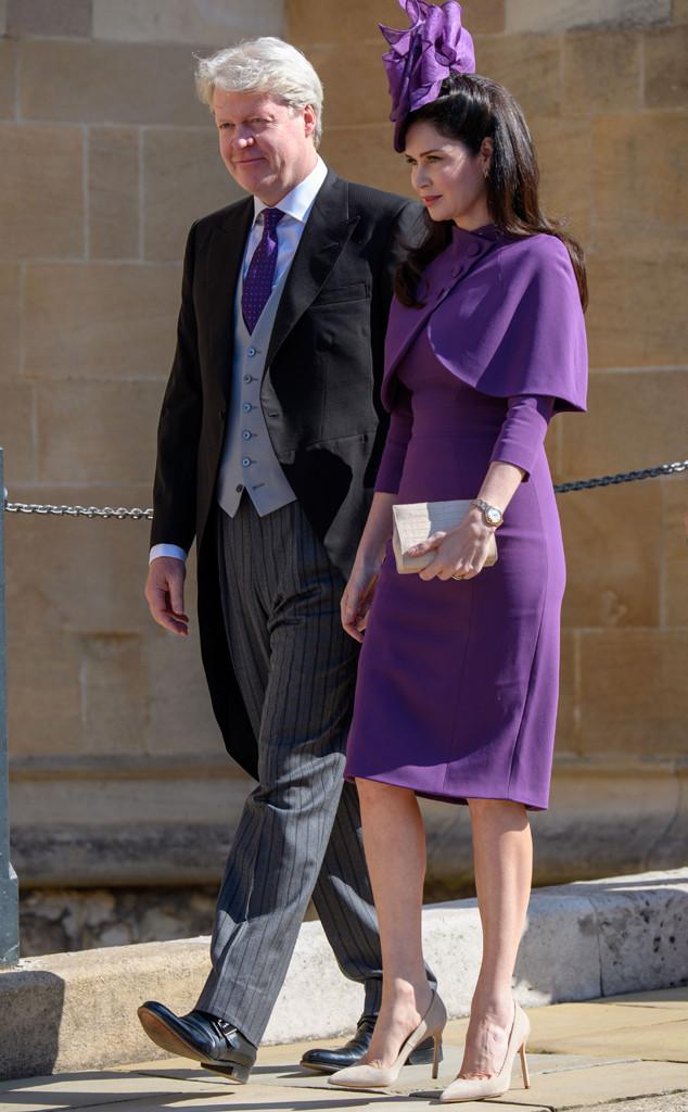 Earl Spencer,Karen Spencer, Royal Wedding Arrivals