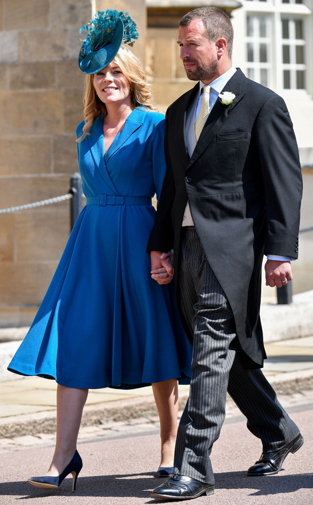 Autumn Phillips, Peter Phillips, Royal Wedding Arrivals