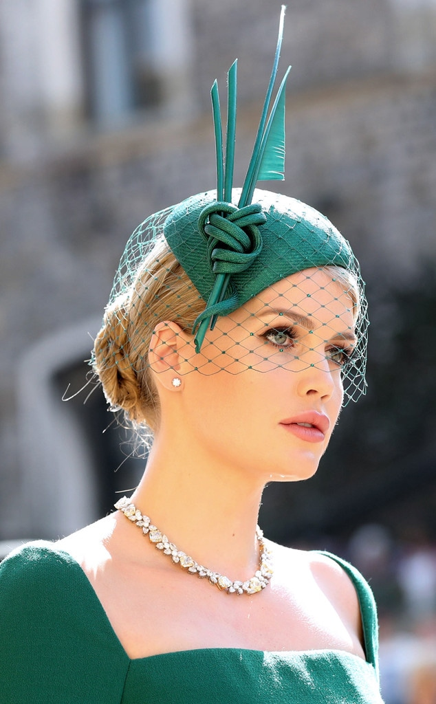 Lady Kitty Spencer, Royal Wedding, Fascinators