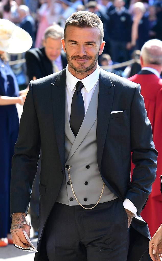 David Beckham, Royal Wedding