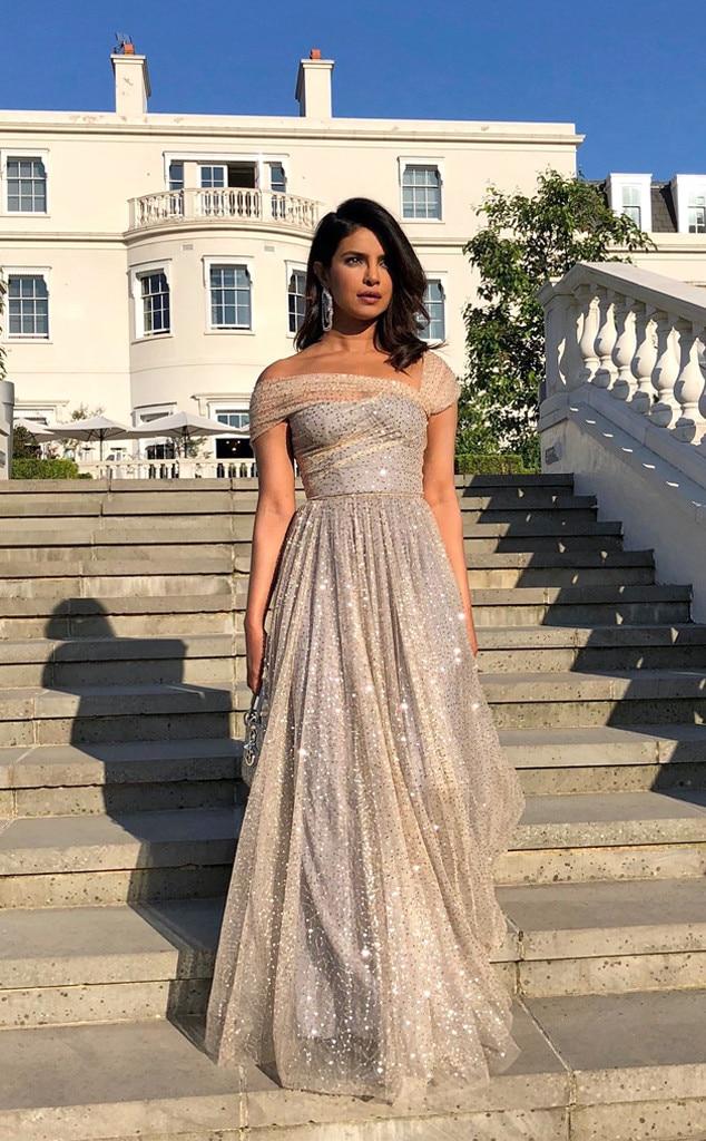 Priyanka Chopra, Royal Wedding, Reception, Instagram