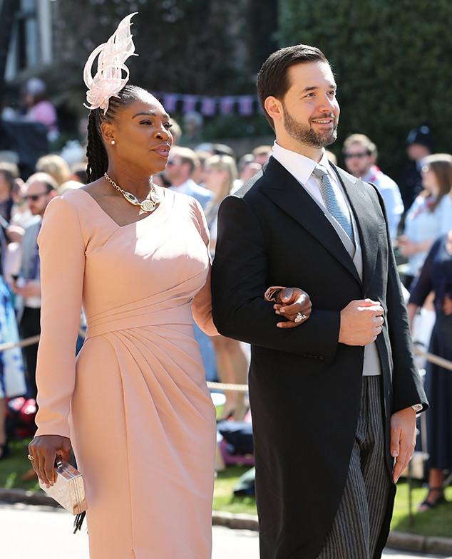 Serena Williams, Alexis Ohanian, Royal Wedding Arrivals