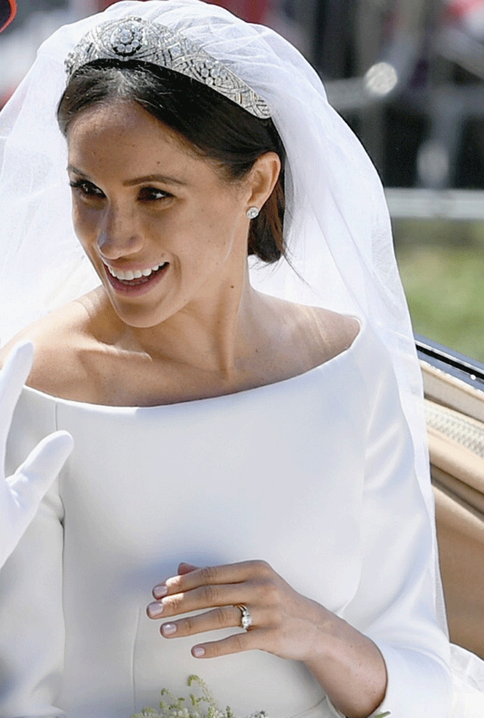 Meghan Markle Wears The Queen S Favorite Nail Polish On Her Wedding