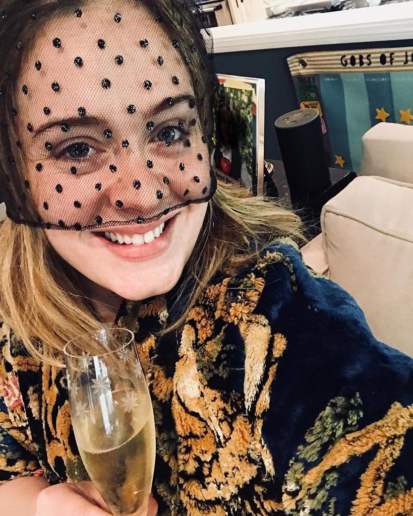 Adele, Royal Wedding, Instagram