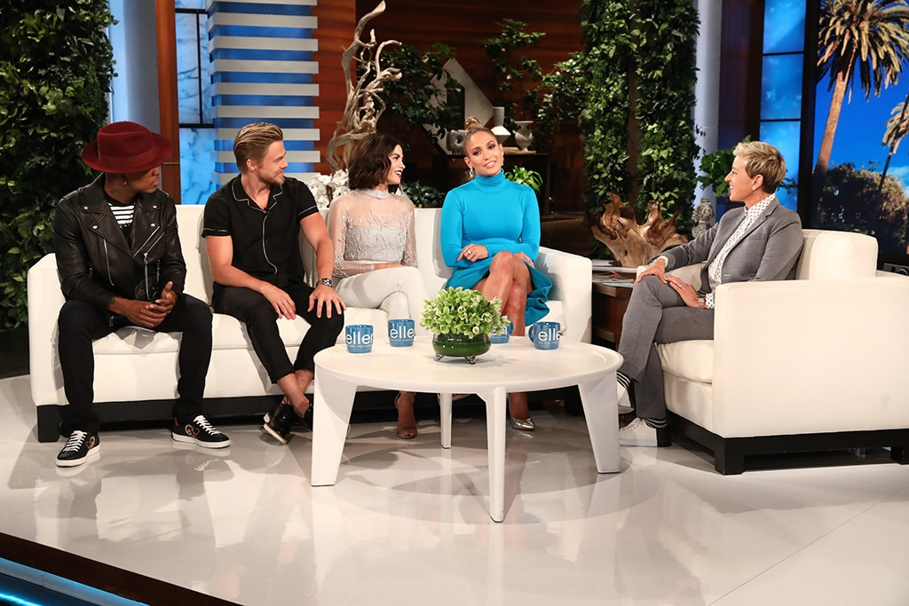 Ellen DeGeneres accidentally calls Jenna Dewan 'Tatum' weeks after celebrity couple splits