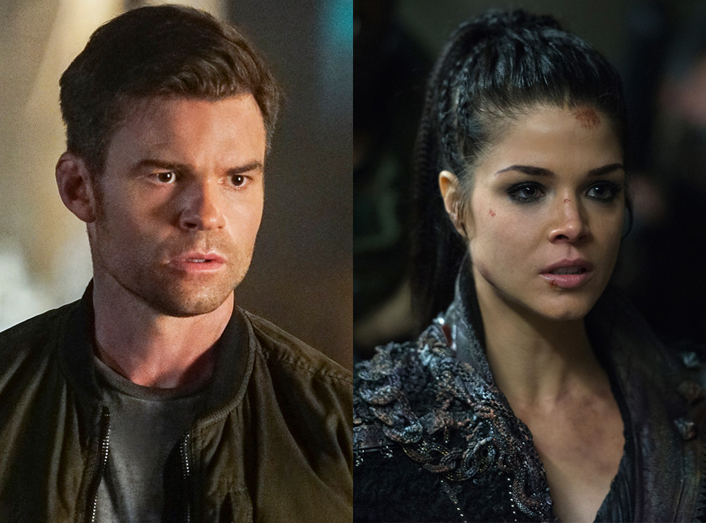 Daniel Gillies, Marie Avgeropoulos, The Originals, The 100