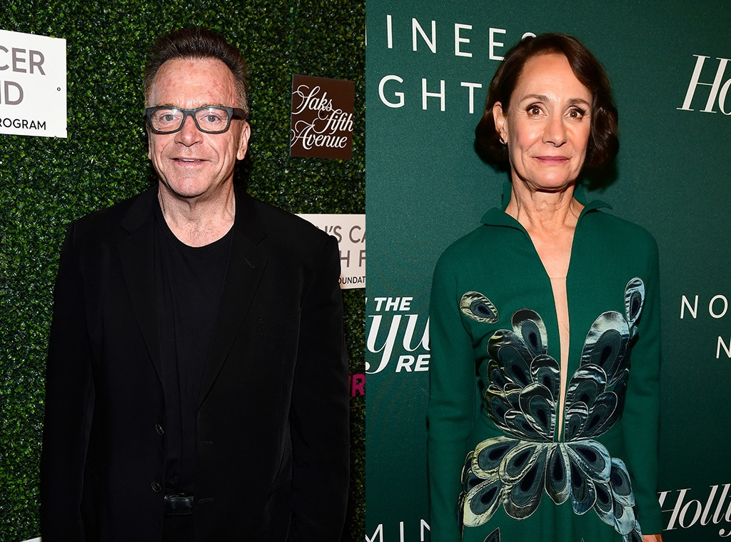Tom Arnold, Laurie Metcalf