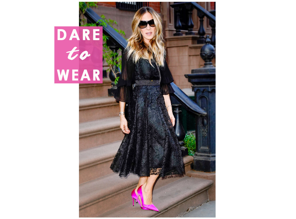 ESC: Sarah Jessica Parker, Dare to Wear
