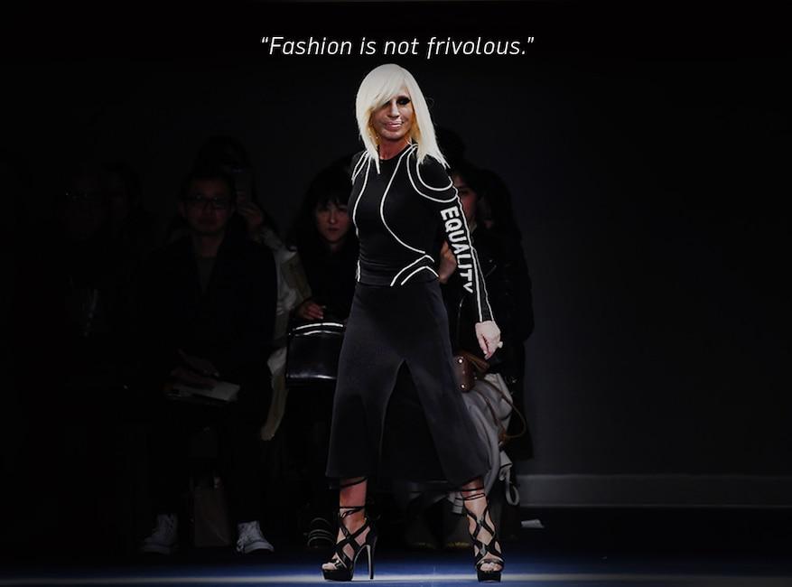 ESC: Donatella Versace