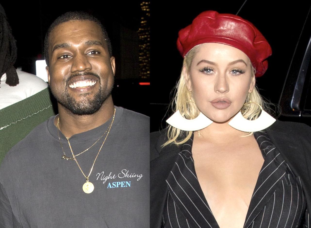 Kanye West, Christina Aguilera