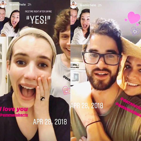 Lea michele dating 2017