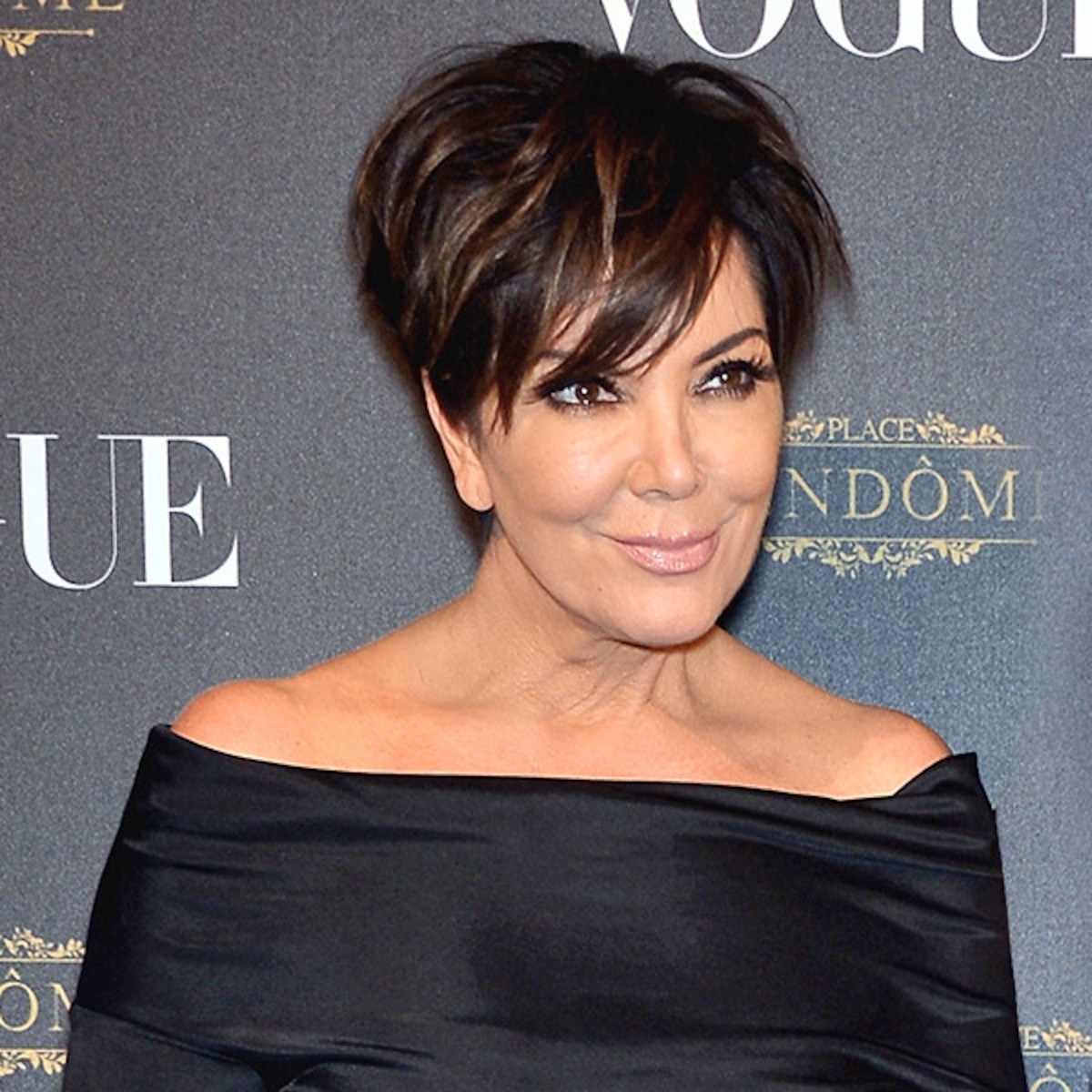 Astounding Kris Jenner Reveals If Shell Ever Get Married Again E News Natural Hairstyles Runnerswayorg