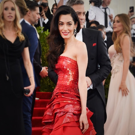Amal Clooney's Style Guide to Red Carpet Glamour