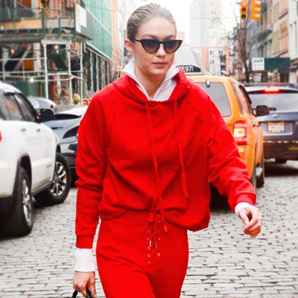 Saturday Savings: Gigi Hadid's Red Hot Hoodie Is Only $20