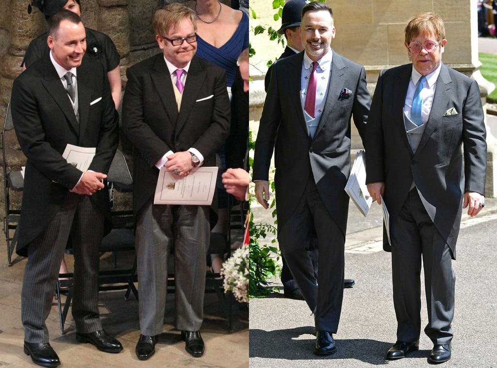 David Furnish, Sir Elton John, Royal Wedding, Split
