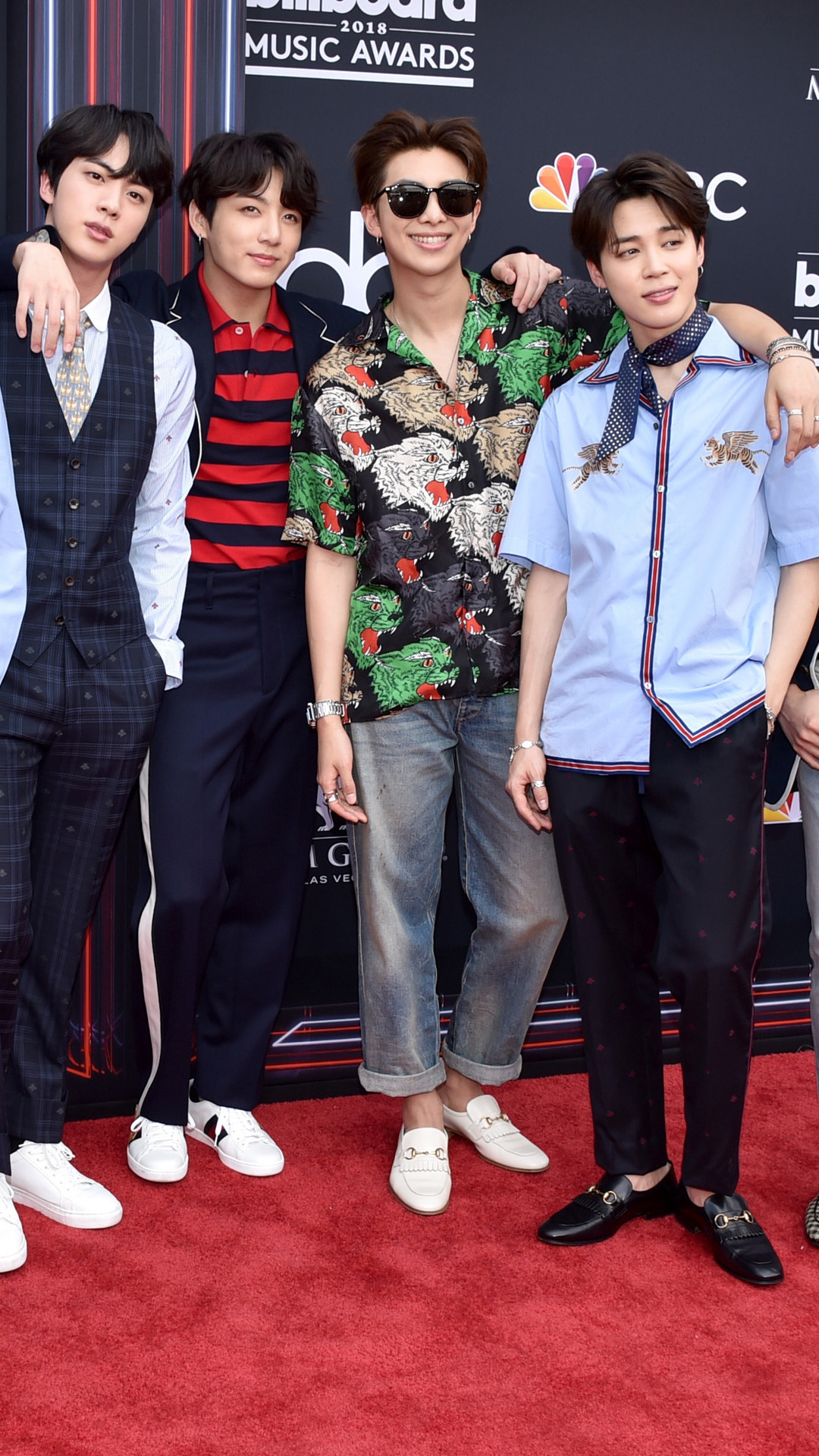 BTS, 2018 Billboard Music Awards, Arrivals