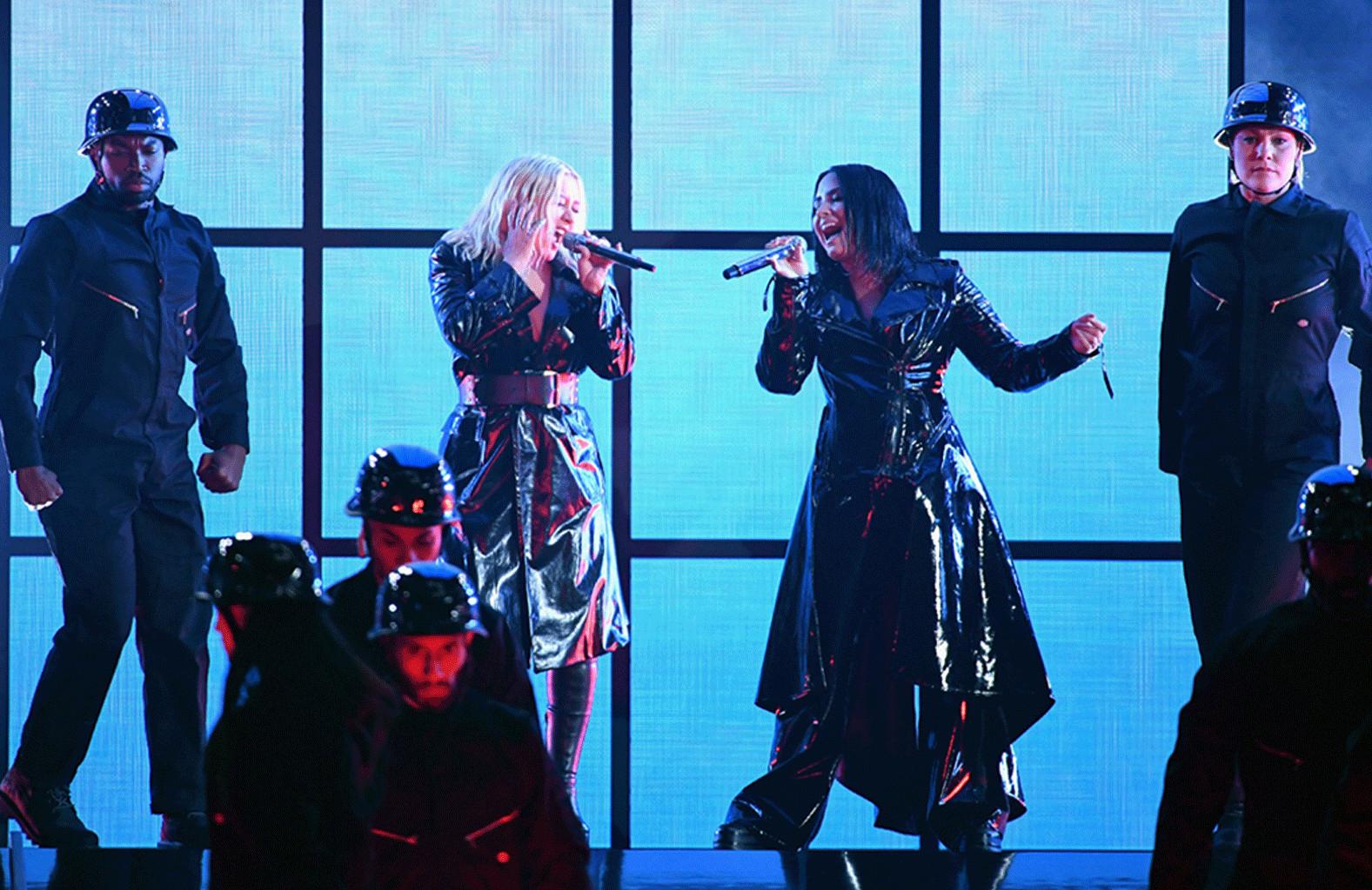 Christina Aguilera, Demi Lovato, 2018 Billboard Music Awards