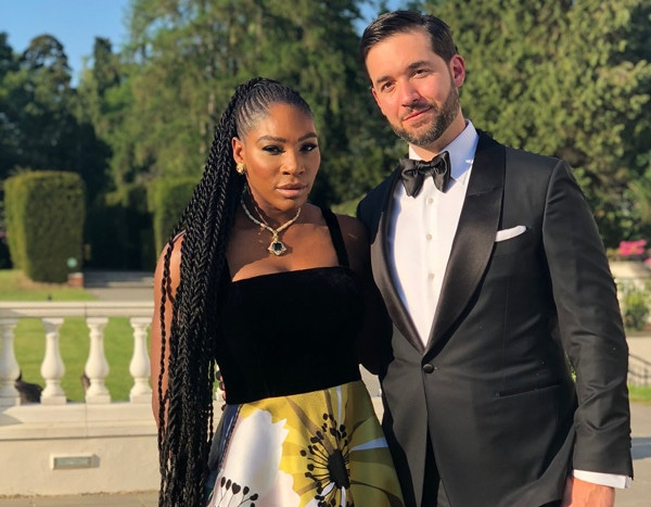 Serena Williams Royal Wedding Reception Footwear May