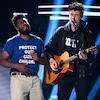 Shawn Mendes and Khalid Pay Tribute to Victims of Gun Violence at 2018 Billboard Music Awards