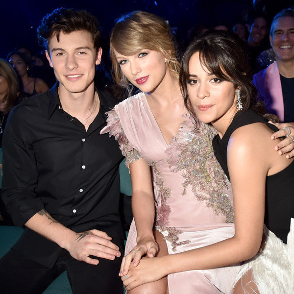 Shawn Mendes, Taylor Swift, Camila Cabello, 2018 Billboard Music Awards