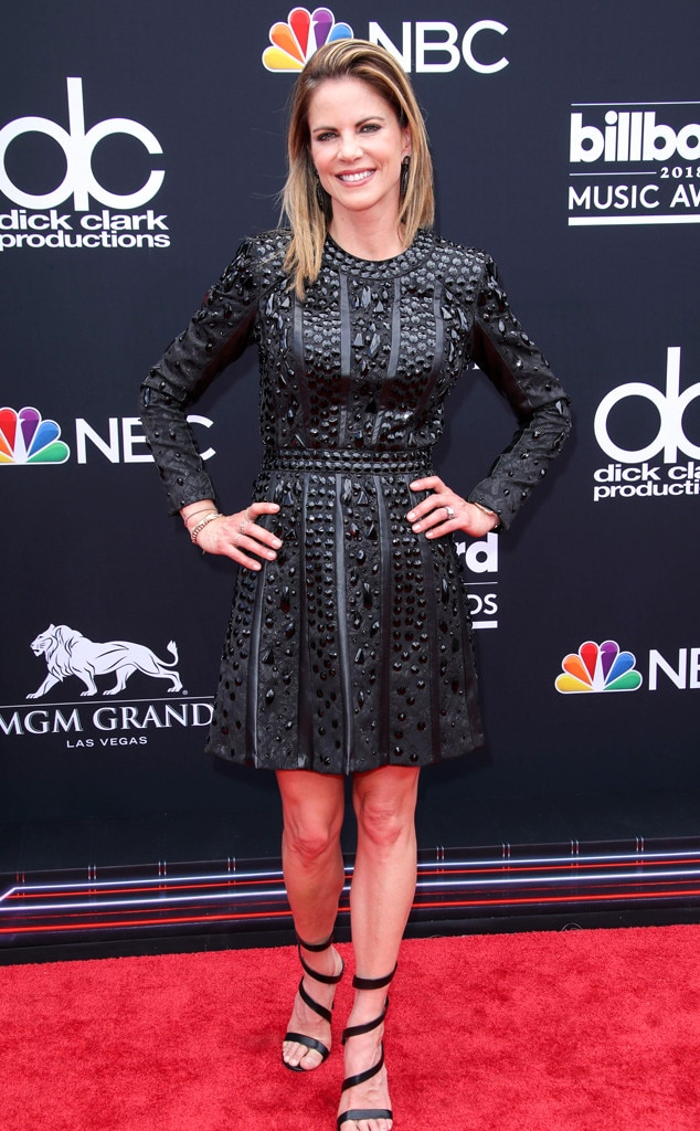 Natalie Morales From 2018 Billboard Music Awards Red