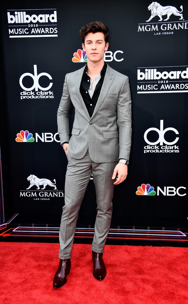 Shawn Mendes, 20 May 2018, 2018 Billboard Music Awards, Arrivals