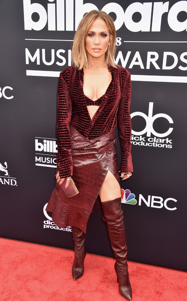 Jennifer Lopez, 2018 Billboard Music Awards, Arrivals